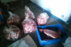Bulancak'ta domuz eti ele geçirildi!