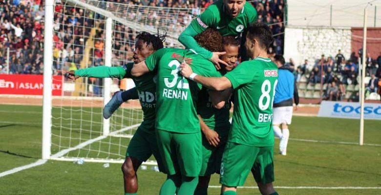 Giresunspor 3 puanı 3 golle aldı