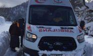Mahsur kalan hastalar kurtarıldı