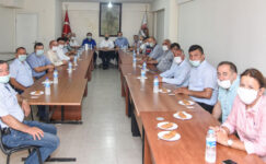 Başkan Şenlikoğlu'ndan muhtarlara ziyaret