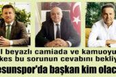 Giresunspor'da başkan kim olacak?
