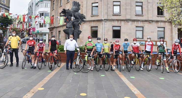 Avrupa Hareketlilik Bisiklet Turu yapıldı