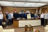 Deva Partisi'nden Şenlikoğlu'na ziyaret