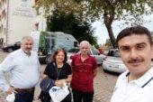 Piraziz'de yol isyanı