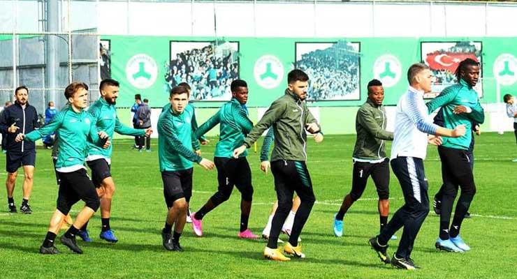Samsunspor hazırlıkları sürüyor