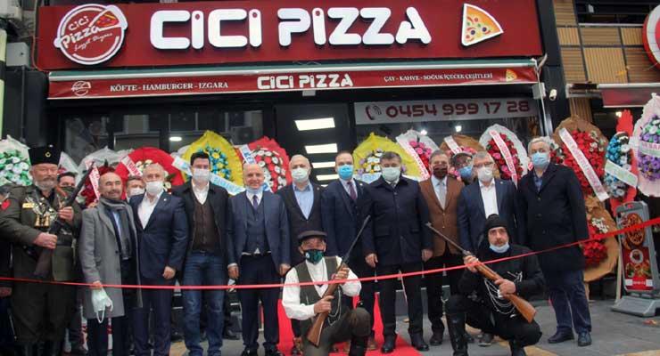 Cici Pizza hizmete açıldı