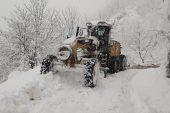 Giresun'da 412 köy yolu ulaşıma kapandı