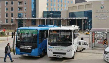 Yeni hastaneye ulaşım sorunu çözülüyor
