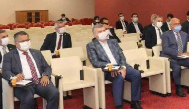 AK Parti Yerel Yönetimler toplantısı yapıldı
