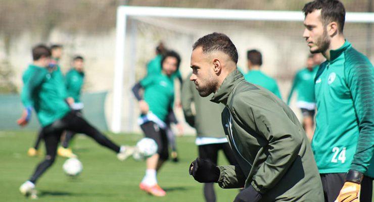Sergio dönüş yolunda