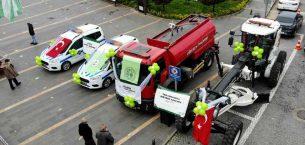 Giresun Belediyesi araç filosunu güçlendiriyor