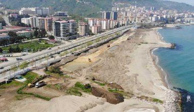 Plajlar bölgesi projesi hızla ilerliyor