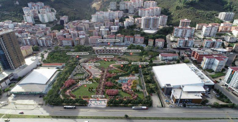 Millet Bahçesi'nin ihalesi 9 Temmuz'da yapılacak