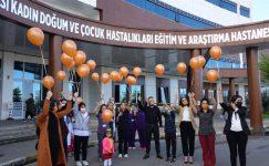 GRÜ Kadın Doğum ve Çocuk Hastanesi'nden Emzirme Haftası etkinliği